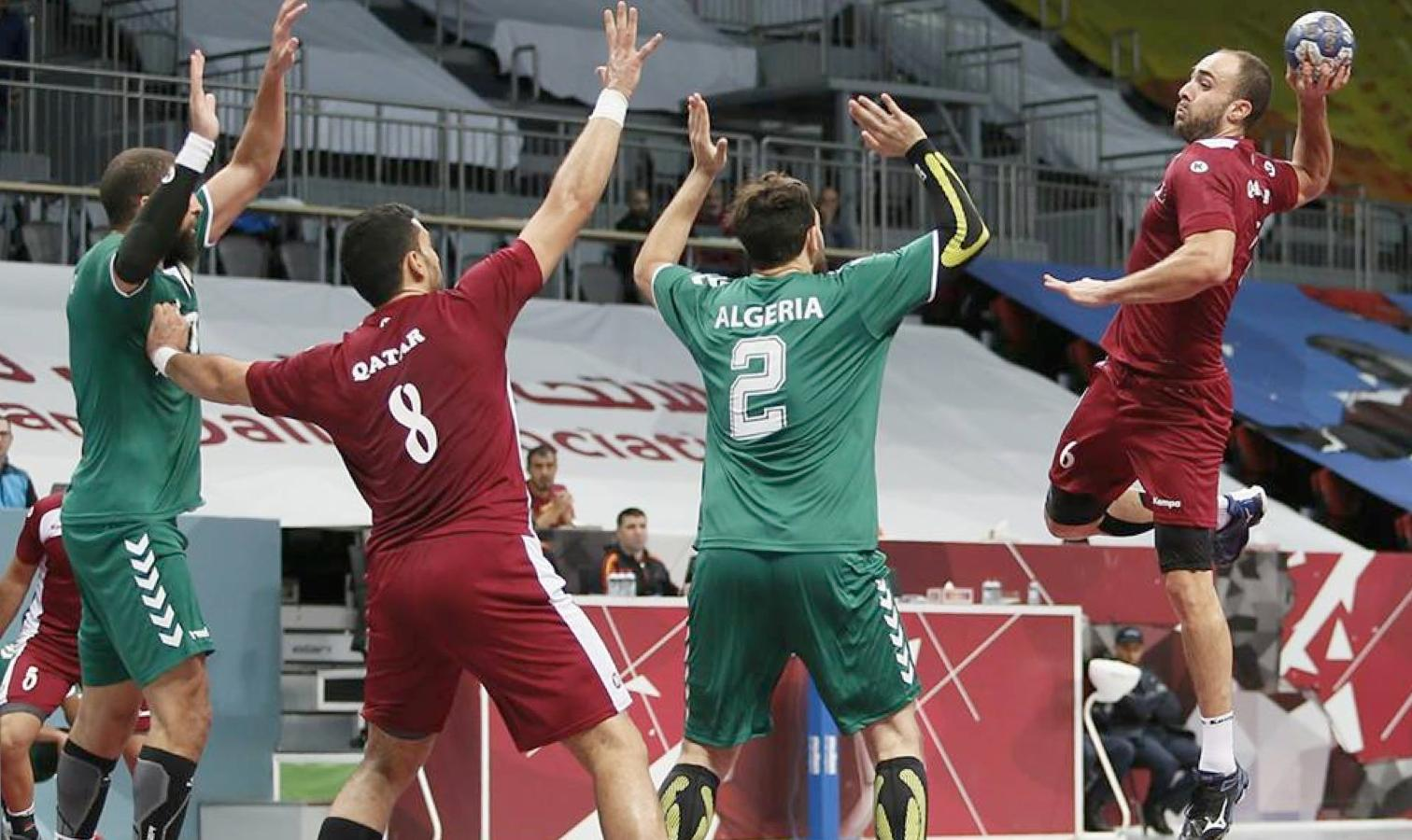 handball algerie qatar action