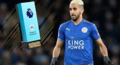 Premier League : Mahrez nominé au titre du meilleur joueur de décembre