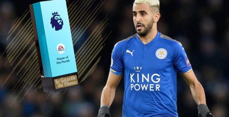 Premier League : Mahrez remonte au classement des buteurs