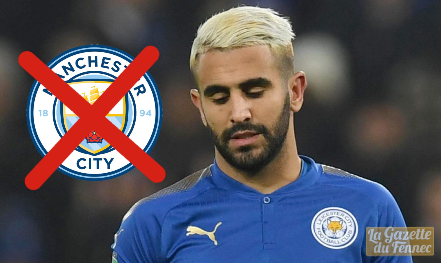 mahrez man city echec