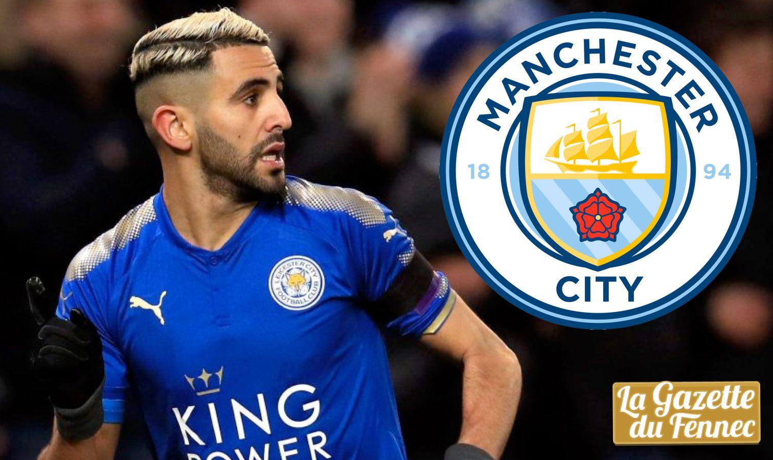 Mercato : Manchester City offre 68 millions d'euros à Leicester pour Riyad Mahrez