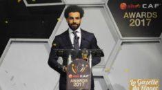 CAF Awards 2017 : Mohamed Salah est le nouveau roi d'Afrique !