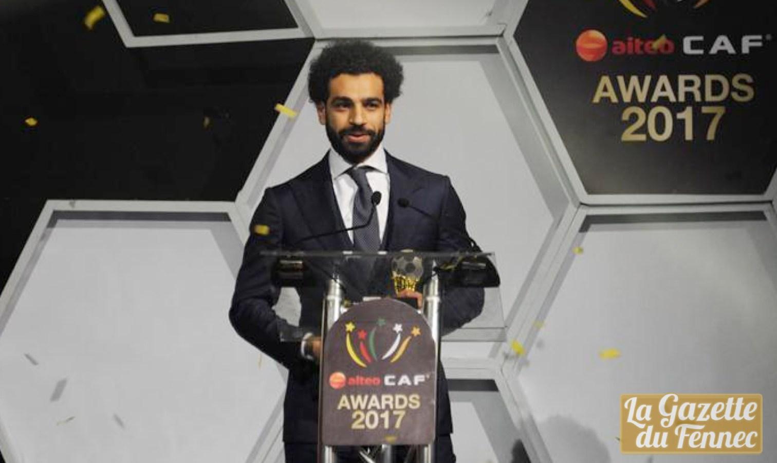 mohamed salah caf 2017 awards