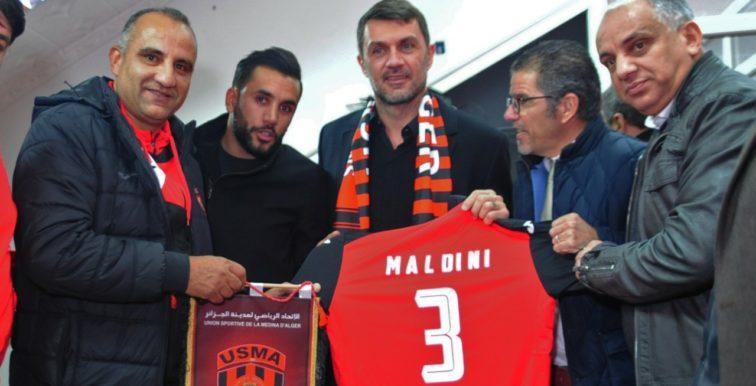 USMA : la légende Paolo Maldini en visite à Alger !