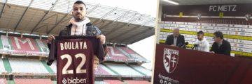 Farid Boulaya : «Très heureux d'arriver au FC Metz»