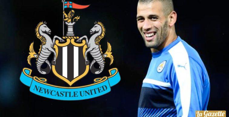 Mercato : Slimani est arrivé à Newcastle !