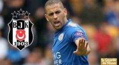 Leicester City : Besiktas entame les négociations pour Slimani