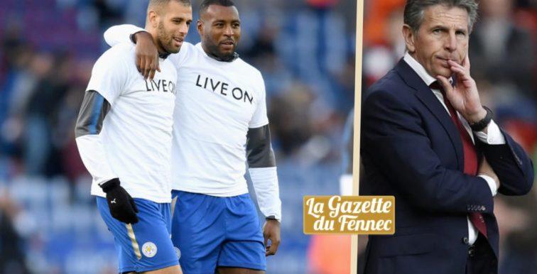 Puel : «On discutera de l'avenir de Slimani après la fin de saison»