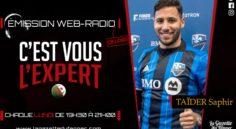 « C'est vous l'Expert » : Saphir Taïder en direct de Miami à 19h30 ce lundi !