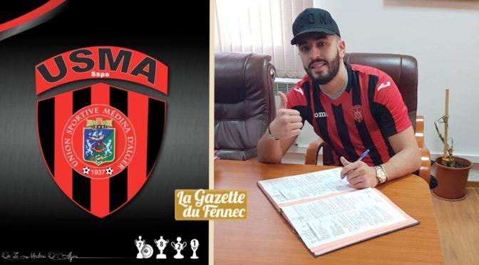 USM Alger : Ryad Keniche signe pour trois ans