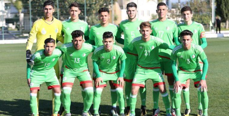 U20 : Algérie – Tunisie le 31 mars à Alger