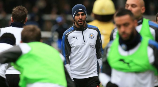 Leicester City : Riyad Mahrez a repris les entrainements ce matin !