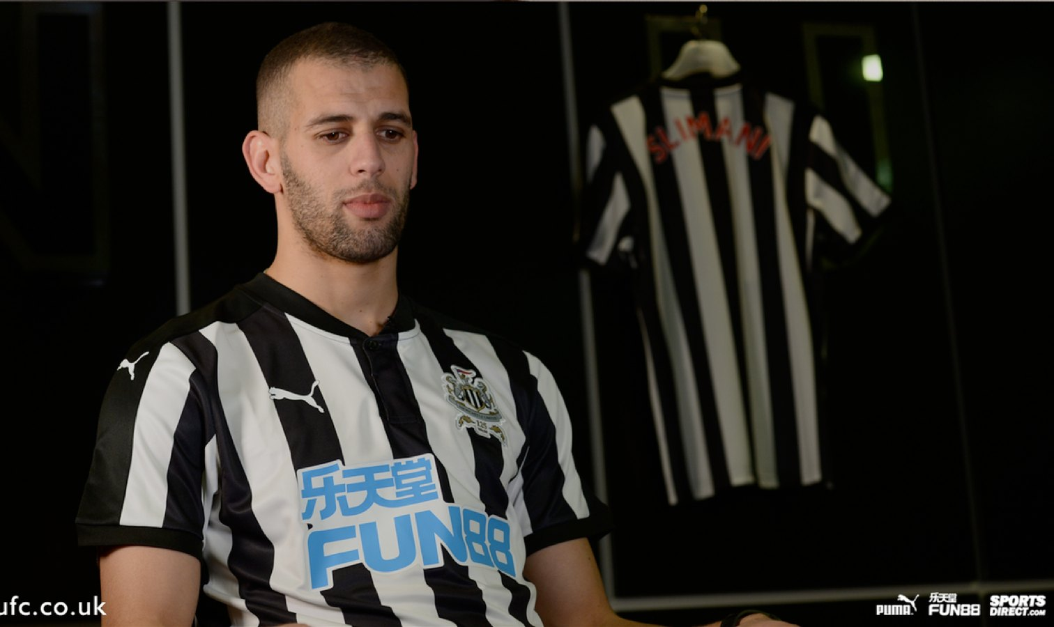 slimani newcastle interview