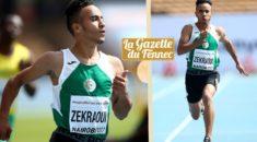 Athlétisme : le sprinter Mohamed Mehdi Zekraoui (18 ans) s'inscrit dans une université aux USA
