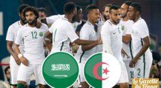 Arabie Saoudite – Algérie A' : le match en direct à 19h30 sur l'ENTV !