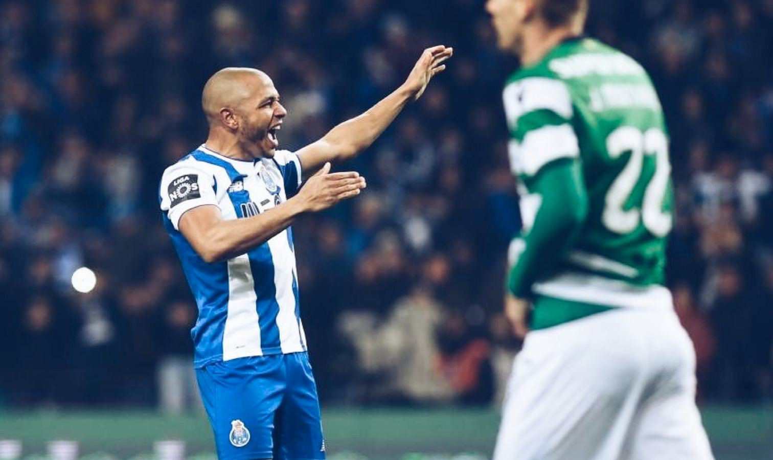 brahimi victoire contre sporting