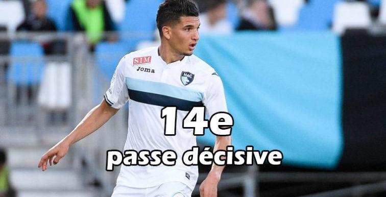 Ligue 2 : 14ème passe décisive pour Zinedine Ferhat (Vidéo)