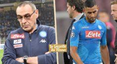 Italie : Naples perd la tête, Sarri regrette Ghoulam
