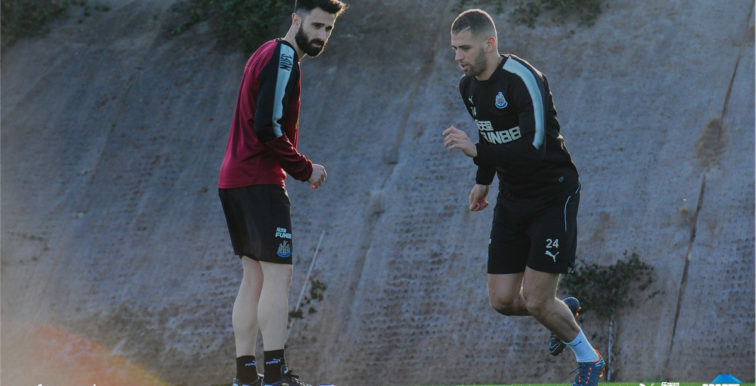 Newcastle : Slimani est revenu à l'entraînement (Vidéo)