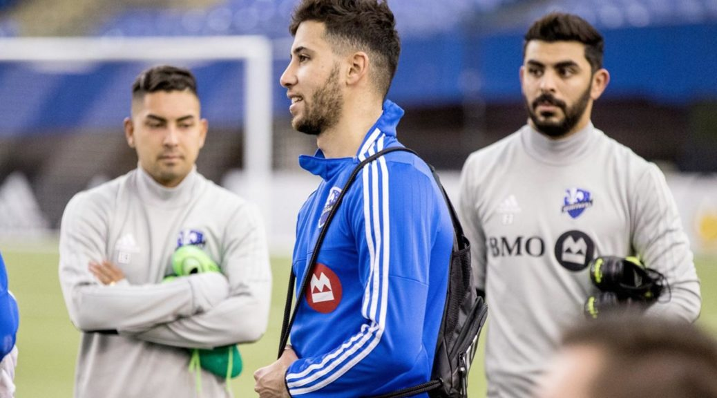 taider entrainement impact montreal