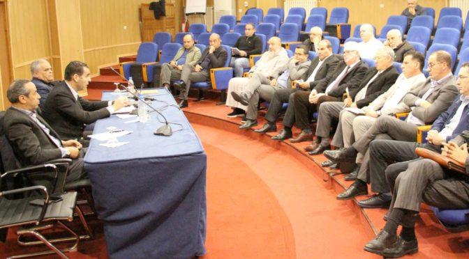 FAF : réunion avec les présidents des clubs de Ligue 1 et Ligue 2