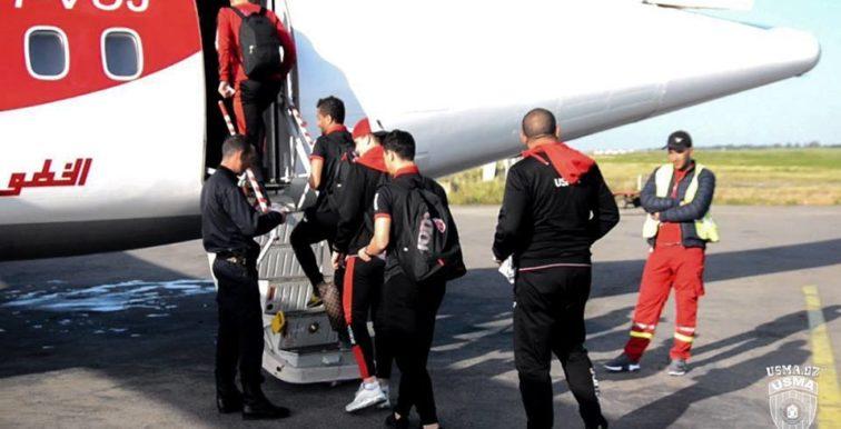 USMA : L'avion transportant l'effectif vers Béchar fait demi tour