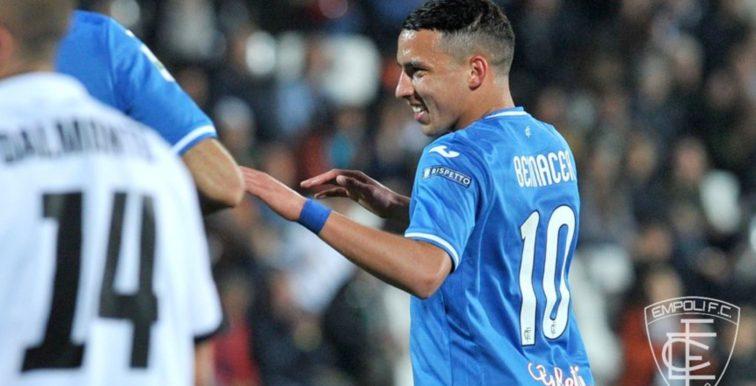 Mercato : Empoli recale Toulouse et Nice pour Bennacer