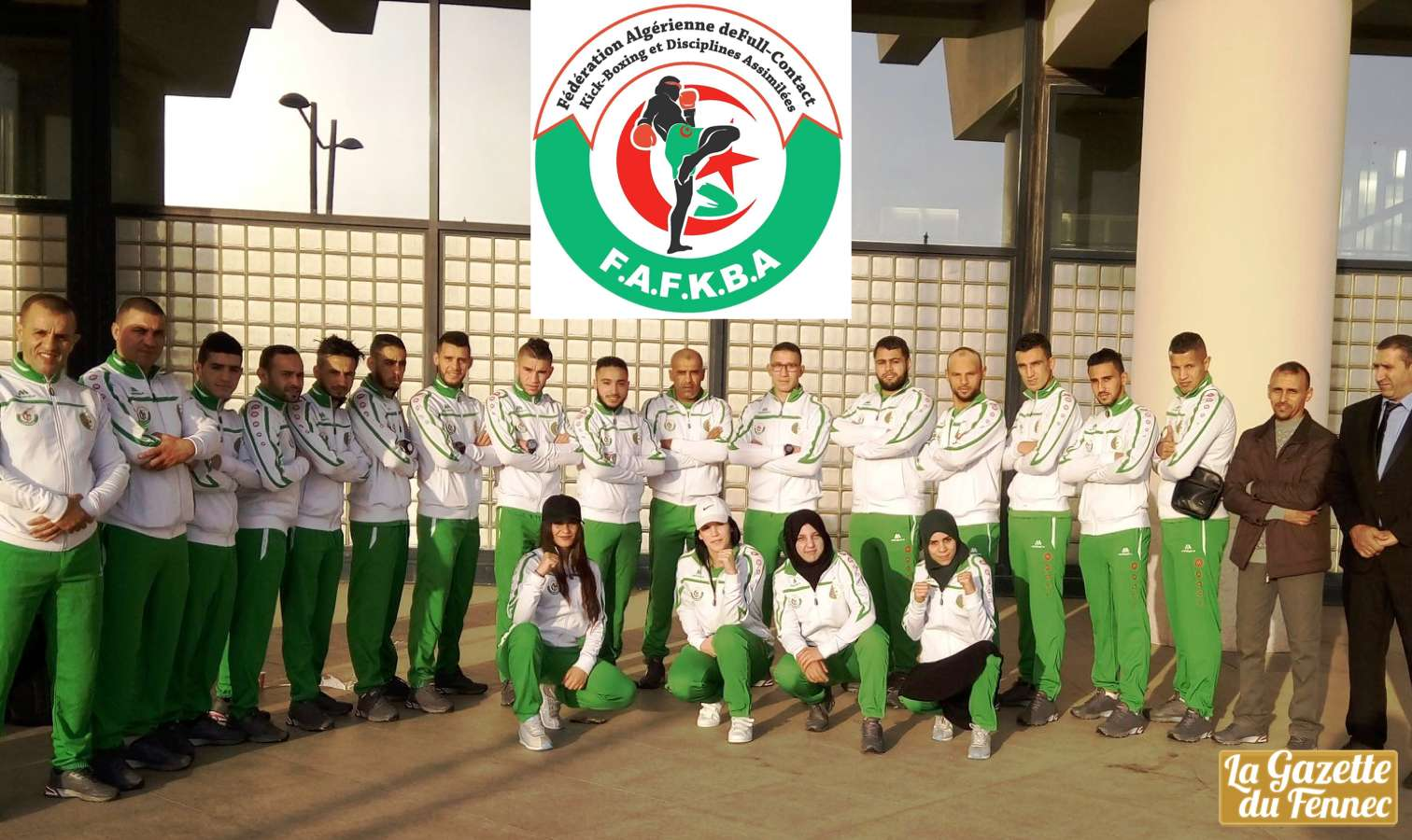 kick boxing algerie delegation