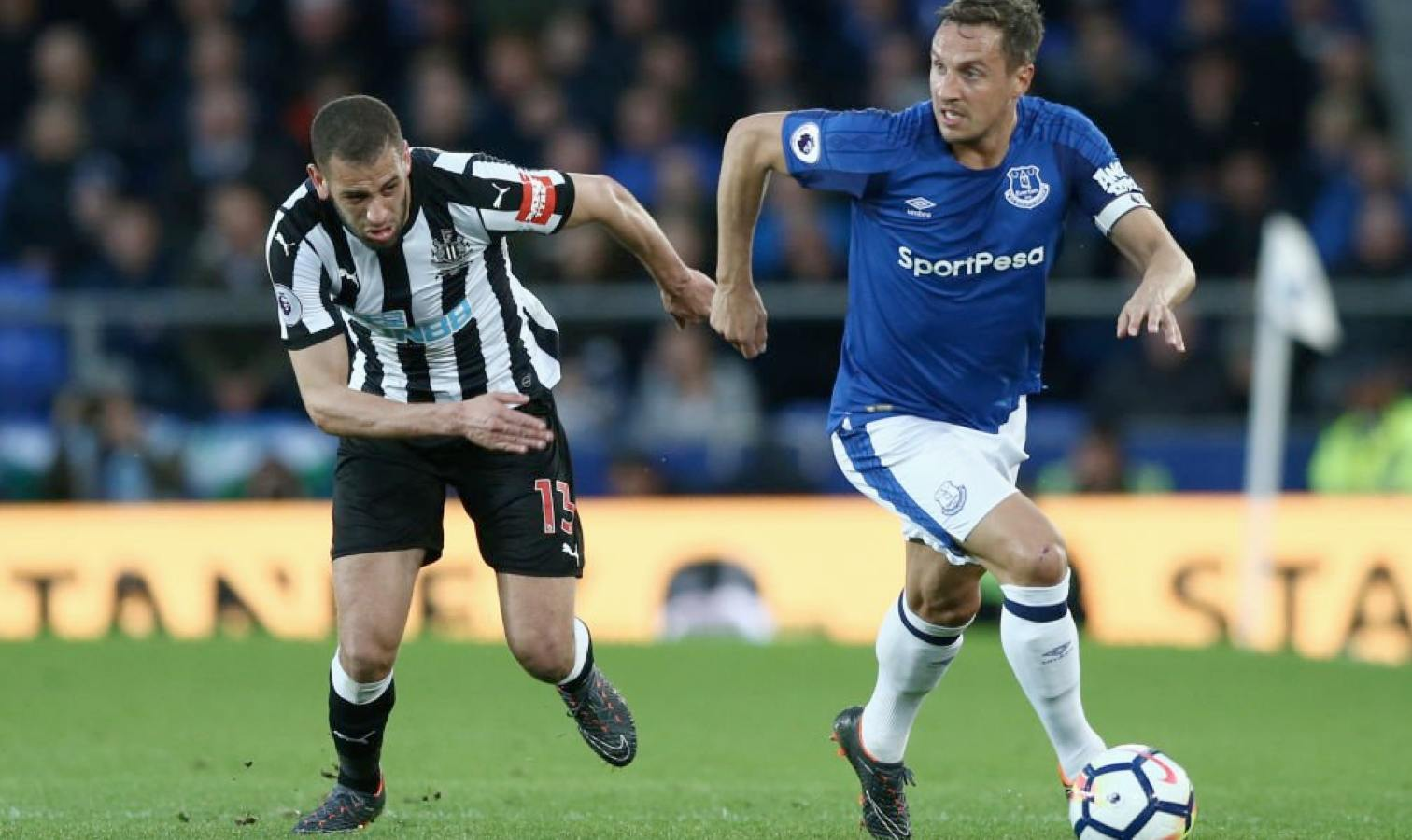slimani contre everton