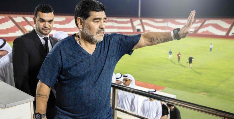 Emirats arabes unis : Maradona quitte le banc d'Al Fujairah