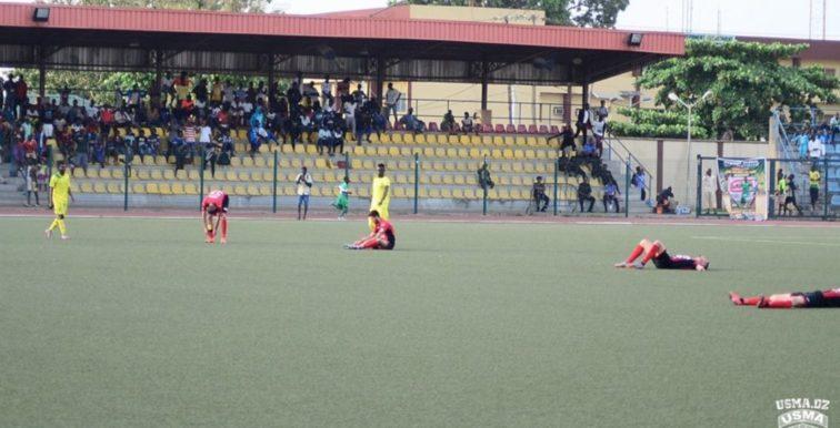 CAF CC : l'USMA s'incline au Nigeria (2-1)