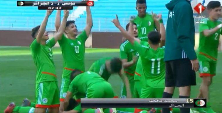 U20 : l'Algérie s'impose 2-1 face à la Tunisie !