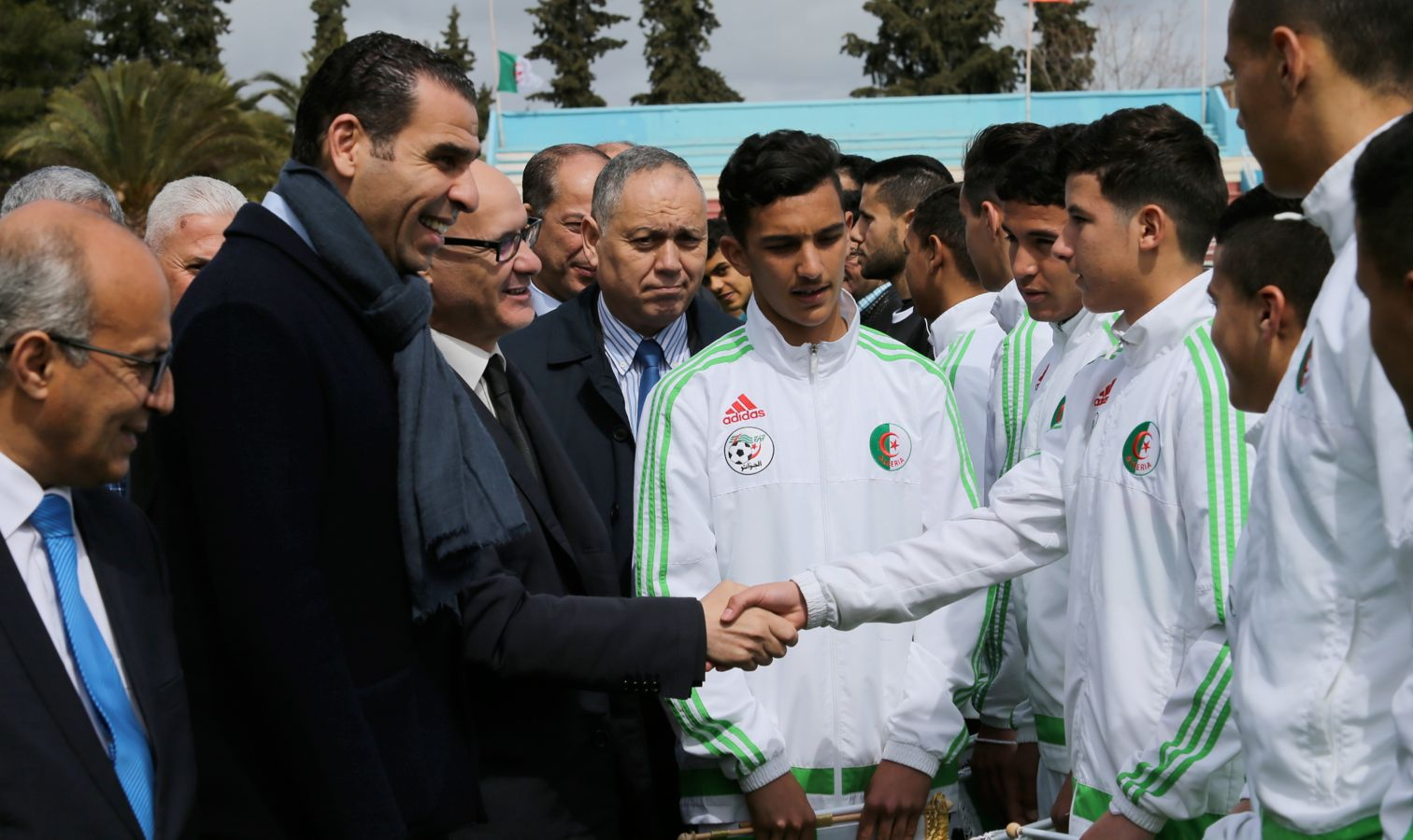 zetchi U15 tournoi tlemcen contre tunisie