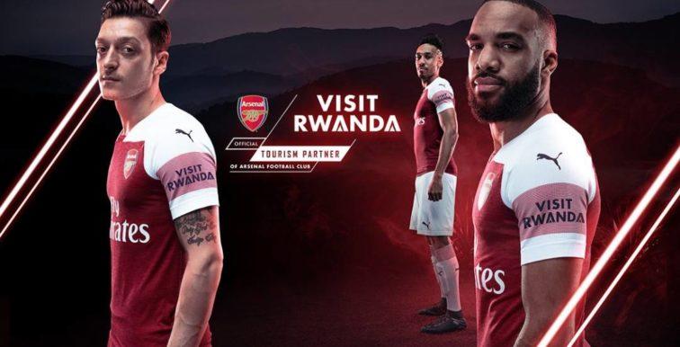 Arsenal : le Rwanda nouveau sponsor du club !