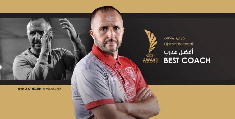 Qatar : Belmadi désigné coach de l'année