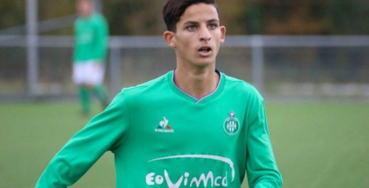 Saint-Étienne : Benkhedim (17 ans) convoqué en Ligue 1 face à Lille !