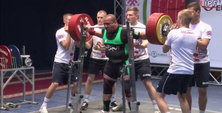 Powerlifting : Bouafia décroche 8 médailles d'or à Moscou