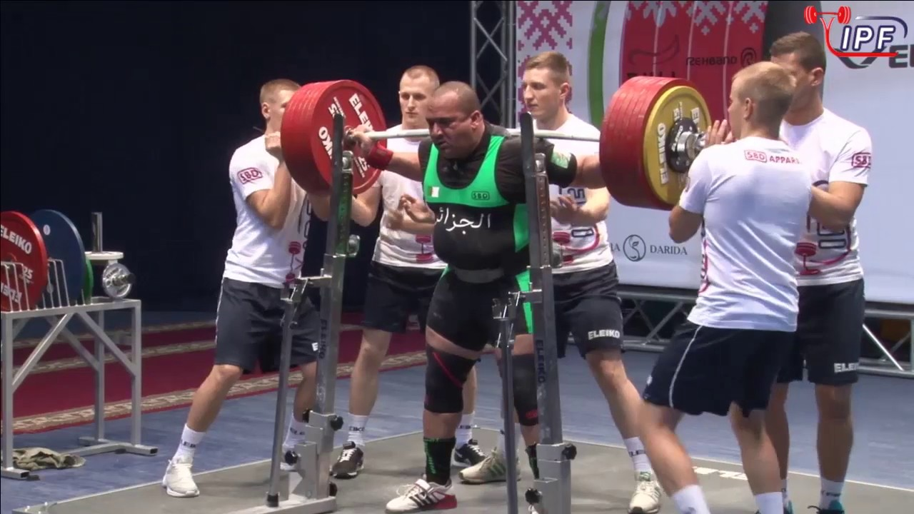 Mohamed Bouafia squat