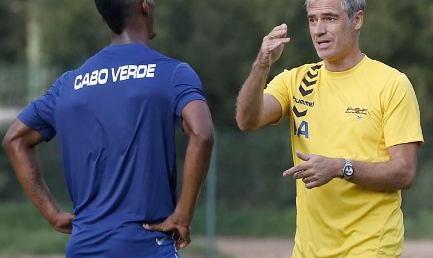 Rui Aguas cap vert coach
