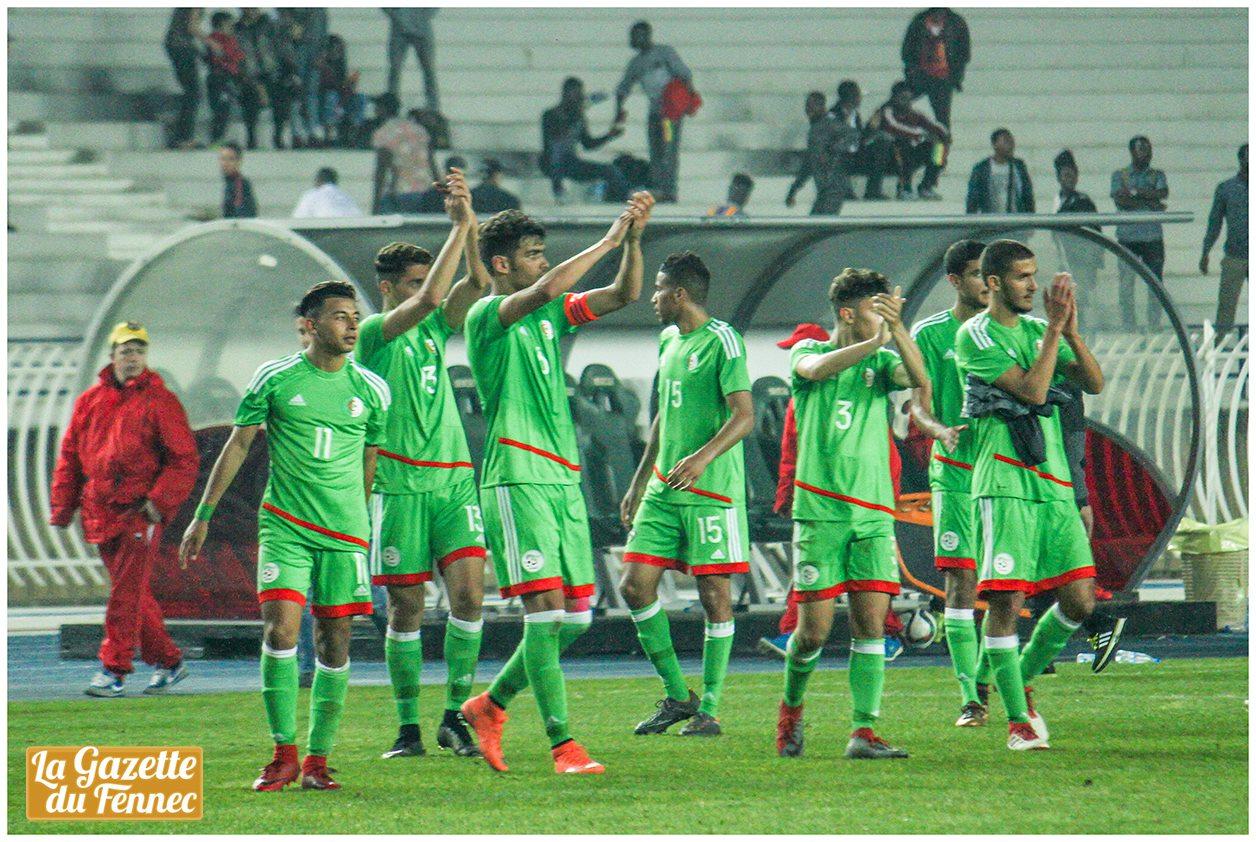 U20 algerie ghana (0-0) aller fin bravo