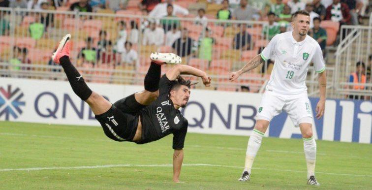 AFC : Bounedjah dans le onze type des 1/8è