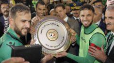 Ligue 1 Mobilis : Le CS Constantine reçoit son Trophée dans une chaude ambiance à Hamlaoui !