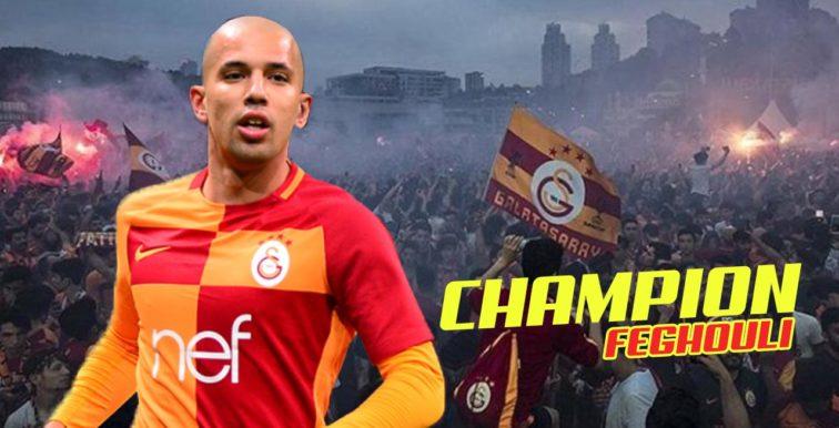 Galatasaray : Feghouli décroche le titre de champion de Turquie