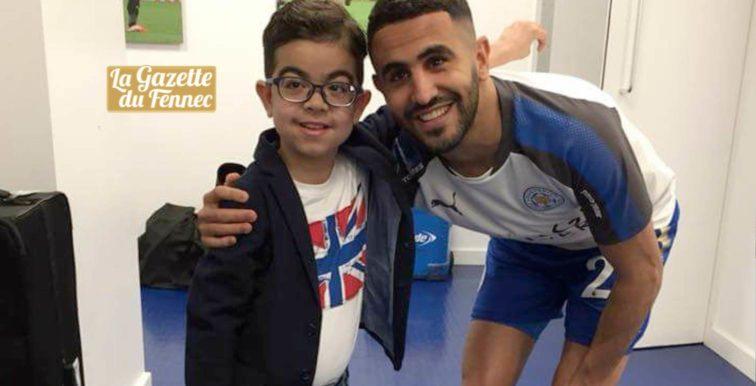 Le petit Imad a rencontré Riyad Mahrez !