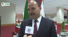EN : le ministre des sports Mohamed Hattab en visite à Sidi Moussa