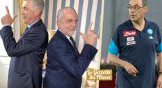 Naples : Maurizio Sarri limogé, Carlo Ancelotti débarque !