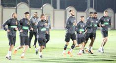 EN : Début du stage à Sidi Moussa avec 24 joueurs