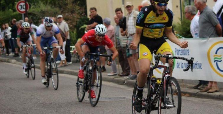 Cyclisme : Yacine Chalel termine 3eme au Critérium de la Muraille