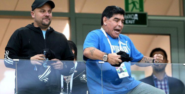 CM 2018 : Maradona pique une colère