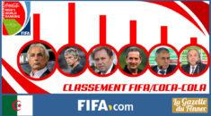 Classement FIFA/Coca-Cola® : La chute continue de l'Algérie !